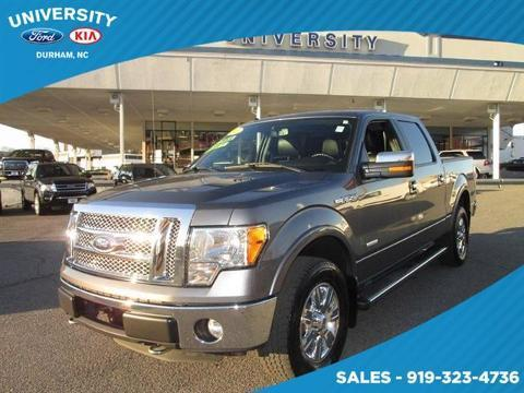 2011 Ford F150 Lariat Crew Cab Pickup for sale in Durham for $30,000 with 66,323 miles.