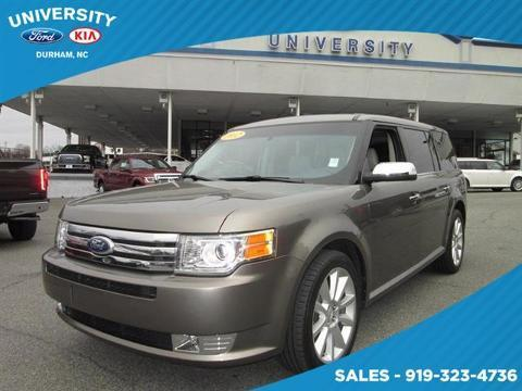 2012 Ford Flex Limited SUV for sale in Durham for $22,500 with 60,351 miles.