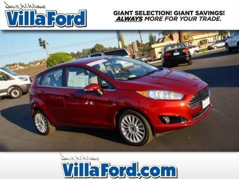 2014 Ford Fiesta Titanium Hatchback for sale in Orange for $15,905 with 6,705 miles.