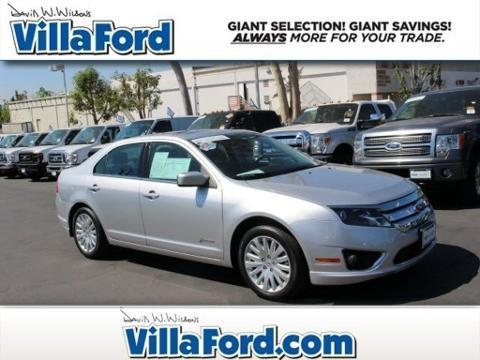 2012 Ford Fusion Hybrid Base Sedan for sale in Orange for $18,989 with 33,549 miles
