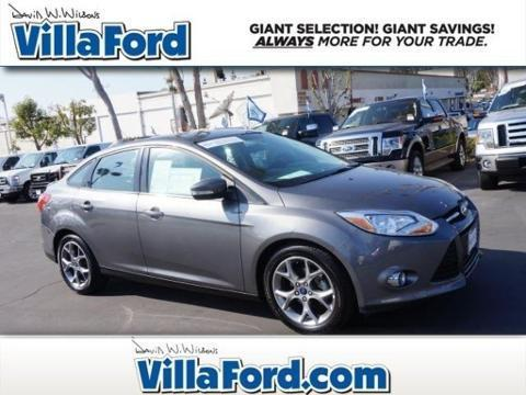 2013 Ford Focus SE Sedan for sale in Orange for $13,887 with 40,238 miles