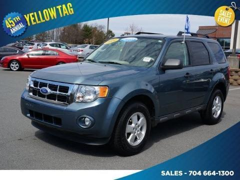 2011 Ford Escape XLT SUV for sale in Mooresville for $15,888 with 33,712 miles