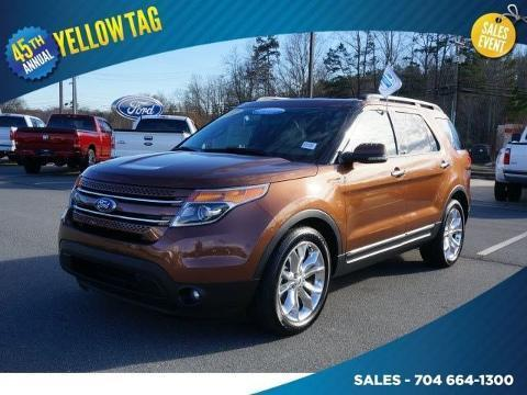2012 Ford Explorer Limited SUV for sale in Mooresville for $28,588 with 49,747 miles.