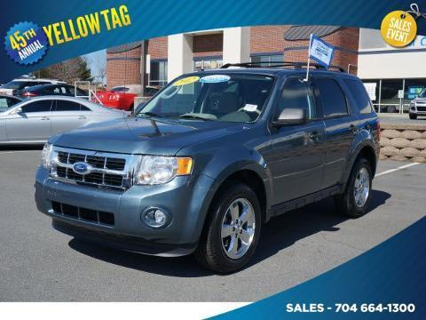 2012 Ford Escape XLT SUV for sale in Mooresville for $17,500 with 45,328 miles