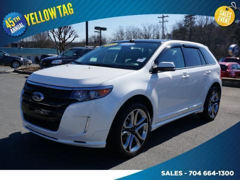 2014 Ford Edge Sport SUV for sale in Mooresville for $34,500 with 18,256 miles.
