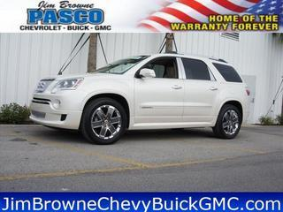 2012 GMC Acadia SUV for sale in Dade City for $39,800 with 32,997 miles.
