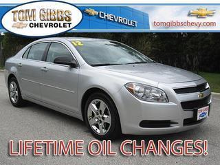 2012 Chevrolet Malibu Sedan for sale in Palm Coast for $13,445 with 48,154 miles.