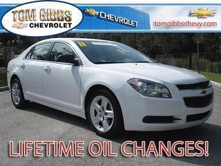 2011 Chevrolet Malibu Sedan for sale in Palm Coast for $14,885 with 38,746 miles.