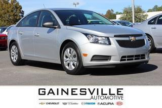 2014 Chevrolet Cruze Sedan for sale in Gainesville for $15,997 with 5,278 miles.