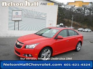 2014 Chevrolet Cruze Sedan for sale in Meridian for $19,998 with 16,891 miles