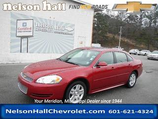 2014 Chevrolet Impala Limited Sedan for sale in Meridian for $19,991 with 25,201 miles