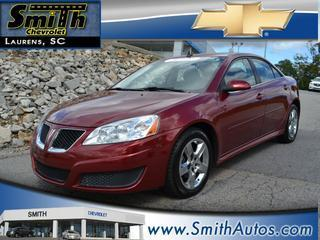2010 Pontiac G6 Sedan for sale in Laurens for $13,000 with 49,682 miles.