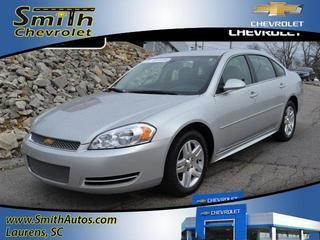 2014 Chevrolet Impala Limited Sedan for sale in Laurens for $16,500 with 26,065 miles