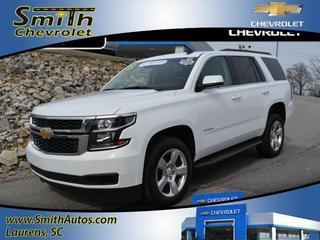 2015 Chevrolet Tahoe SUV for sale in Laurens for $48,500 with 14,010 miles