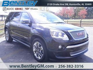 2012 GMC Acadia SUV for sale in Huntsville for $34,490 with 48,245 miles.