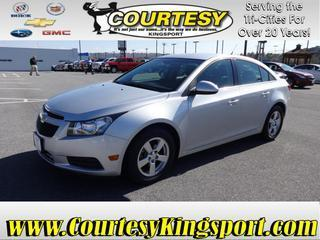 2012 Chevrolet Cruze Sedan for sale in Kingsport for $13,995 with 67,471 miles.