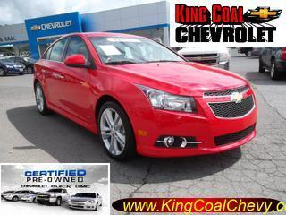 2014 Chevrolet Cruze Sedan for sale in Oak Hill for $19,900 with 14,435 miles.