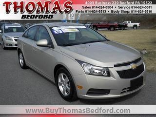 2012 Chevrolet Cruze Sedan for sale in Bedford for $14,785 with 24,937 miles