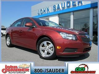 2013 Chevrolet Cruze Sedan for sale in New Holland for $13,999 with 25,192 miles