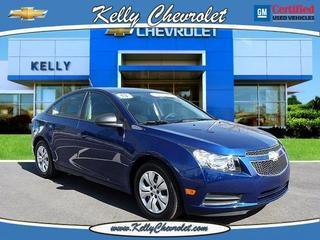 2013 Chevrolet Cruze Sedan for sale in Phoenixville for $16,000 with 26,782 miles