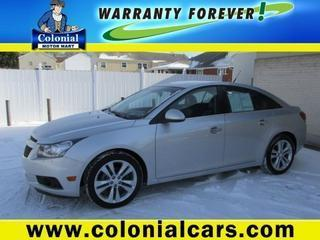 2014 Chevrolet Cruze Sedan for sale in Indiana for $15,370 with 40,548 miles.