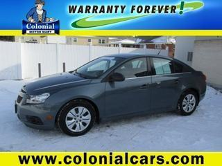 2012 Chevrolet Cruze Sedan for sale in Indiana for $14,968 with 44,590 miles.