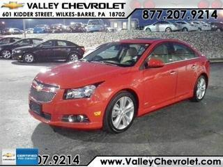 2014 Chevrolet Cruze Sedan for sale in Wilkes Barre for $18,968 with 8,791 miles.