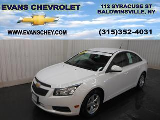 2014 Chevrolet Cruze Sedan for sale in Baldwinsville for $15,495 with 10,884 miles.