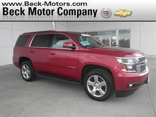 2015 Chevrolet Tahoe SUV for sale in Pierre for $51,988 with 25,121 miles