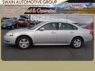 2013 Chevrolet Impala Sedan for sale in Hermiston for $14,998 with 45,738 miles