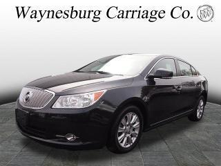 2012 Buick LaCrosse Sedan for sale in Waynesburg for $17,900 with 36,480 miles.