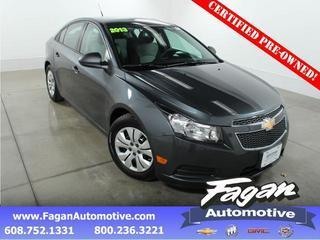2013 Chevrolet Cruze Sedan for sale in Janesville for $15,457 with 18,853 miles