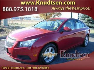 2014 Chevrolet Cruze Sedan for sale in Post Falls for $16,995 with 11,501 miles.