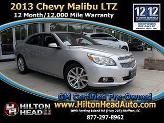 2013 Chevrolet Malibu Sedan for sale in Bluffton for $16,590 with 40,788 miles.
