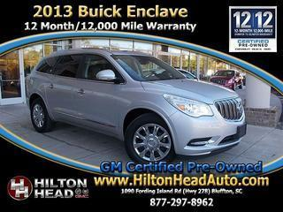 2013 Buick Enclave SUV for sale in Bluffton for $30,589 with 49,215 miles.