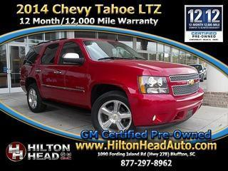 2014 Chevrolet Tahoe SUV for sale in Bluffton for $43,995 with 40,668 miles