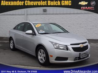 2013 Chevrolet Cruze Sedan for sale in Dickson for $15,428 with 45,279 miles.