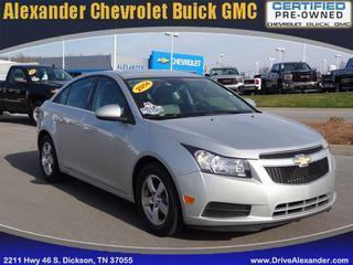 2014 Chevrolet Cruze Sedan for sale in Dickson for $16,952 with 38,426 miles