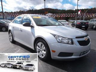 2012 Chevrolet Cruze Sedan for sale in Beckley for $14,958 with 28,922 miles.