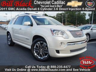 2011 GMC Acadia SUV for sale in Greensboro for $33,950 with 71,597 miles.