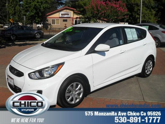 2014 Hyundai Accent GS Hatchback for sale in Chico for $15,995 with 7,018 miles.