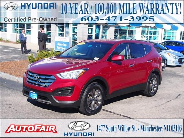2013 Hyundai Santa Fe SUV for sale in Manchester for $22,557 with 30,366 miles.
