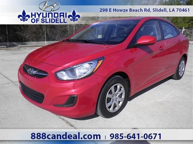 2013 Hyundai Accent GLS Sedan for sale in Slidell for $12,943 with 40,687 miles