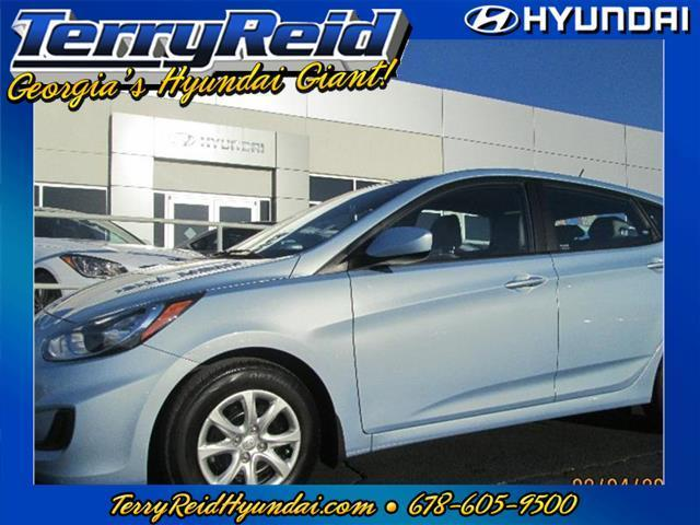 2013 Hyundai Accent GS Hatchback for sale in Cartersville for $14,995 with 5,266 miles.