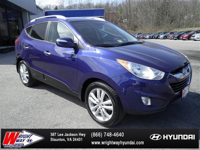 2013 Hyundai Tucson Limited SUV for sale in Staunton for $19,988 with 41,255 miles