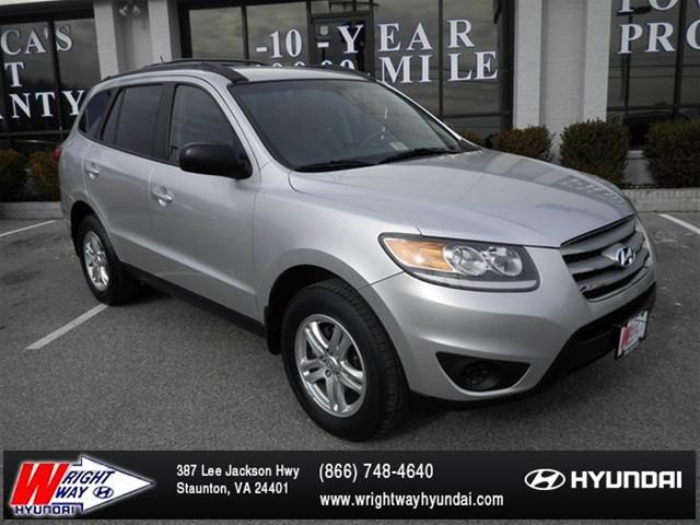 2012 Hyundai Santa Fe GLS SUV for sale in Staunton for $19,988 with 16,395 miles