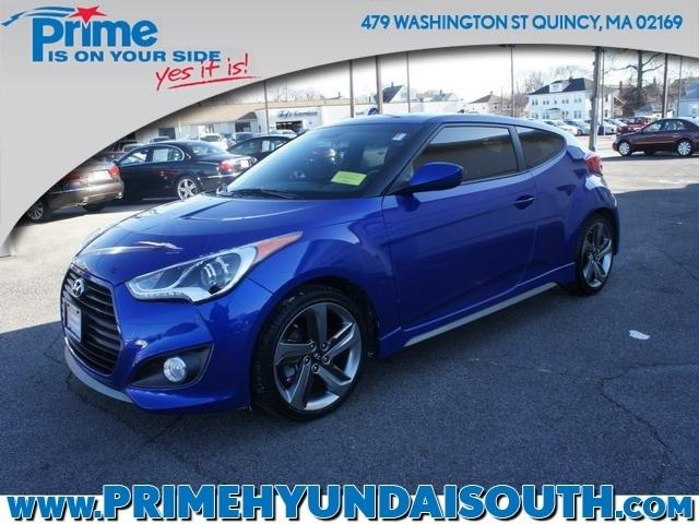 2014 Hyundai Veloster Turbo R-Spec Hatchback for sale in Quincy for $18,400 with 7,307 miles