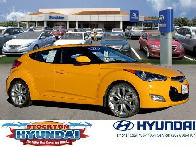 2013 Hyundai Veloster Base Hatchback for sale in Stockton for $17,998 with 13,218 miles.