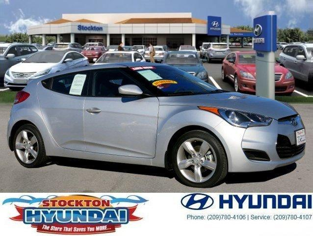 2013 Hyundai Veloster Base Hatchback for sale in Stockton for $16,988 with 14,411 miles
