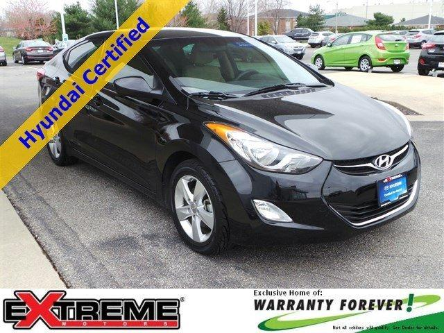 2013 Hyundai Elantra GLS Sedan for sale in Normal for $16,988 with 27,593 miles
